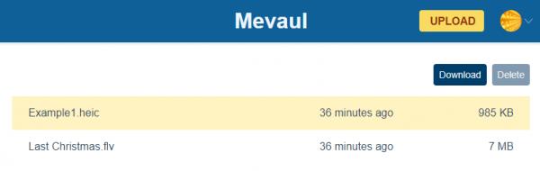 Mevaul: Lưu trữ file miễn phí và an toàn trên nền tảng Blockstack 3