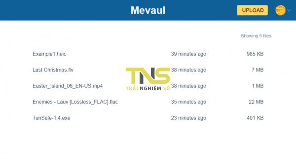 Mevaul: Lưu trữ file miễn phí và an toàn trên nền tảng Blockstack 2
