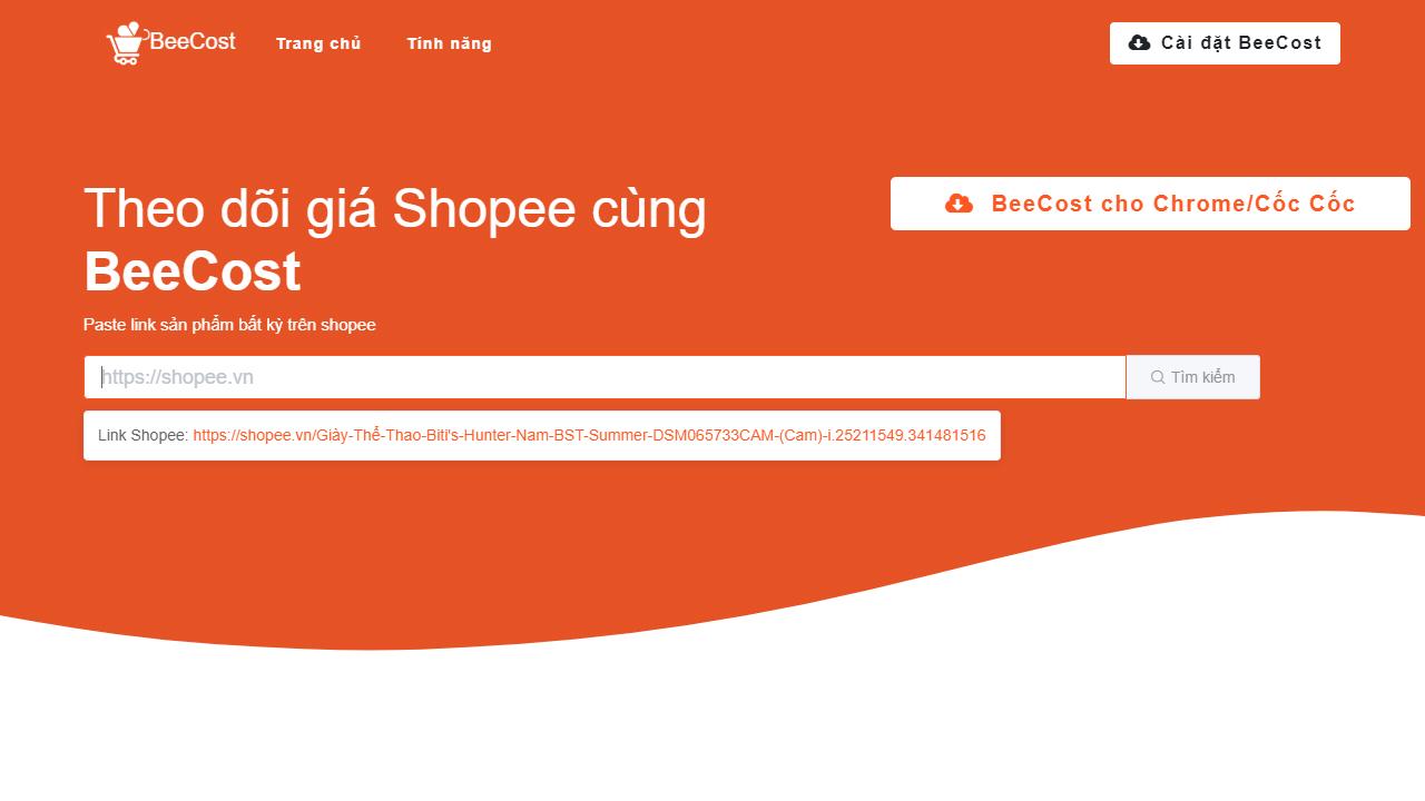 BeeCost featured - BeeCost: Theo dõi giá sản phẩm trên Shopee để tránh mua hàng giá cao