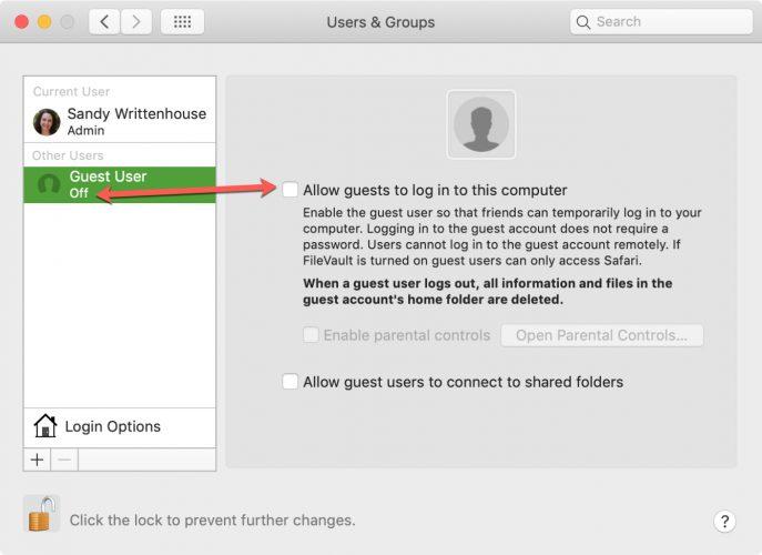 Disable Guest User Login on Mac 687x500 - Cách tắt tài khoản Guest trên máy Mac