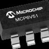 MCP6V51 SOT 23 5 100x100 - Microchip ra mắt bộ khuếch đại thuật toán zero-drift MCP6V51