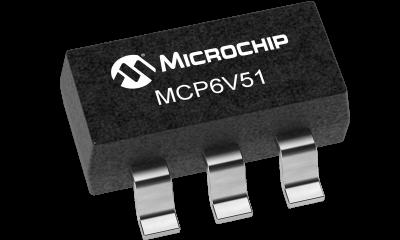 MCP6V51 SOT 23 5 400x240 - Microchip ra mắt bộ khuếch đại thuật toán zero-drift MCP6V51