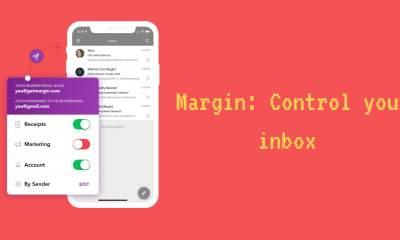 Margin featured 1 400x240 - Margin: Ứng dụng giúp bạn tạo email ảo tránh spam cho hộp thư trên iOS