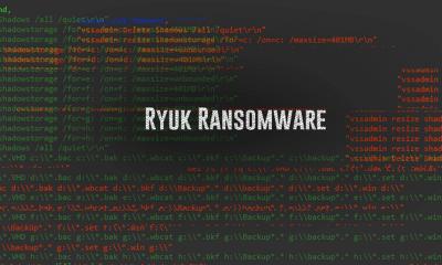 Ryuk ransomware 400x240 - Phần mềm mã độc chỉ tấn công… người giàu