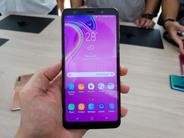 Samsung Galaxy A7 2018 2 600x450 - Chọn điện thoại 7 triệu đồng nào?