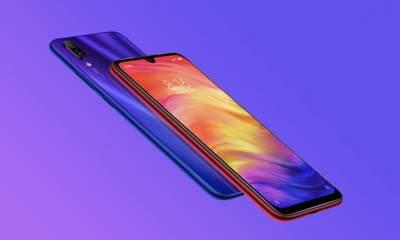 Xiaomi Redmi Note 7 400x240 - Cận cảnh Redmi Note 7 - smartphone đầu tiên của thương hiệu Redmi