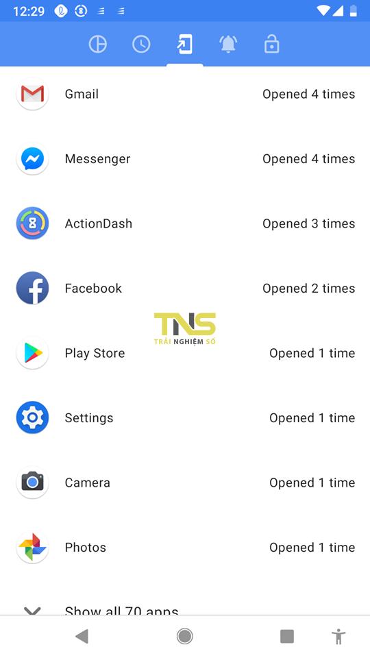 actiondash 4 - ActionDash: mang tính năng Digital Wellbeing cho bất kỳ điện thoại Android nào