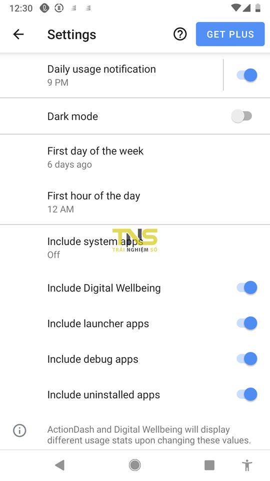 actiondash 7 - ActionDash: mang tính năng Digital Wellbeing cho bất kỳ điện thoại Android nào