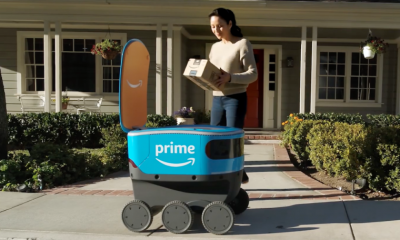 amazon scout 400x240 - Amazon giao hàng bằng người máy