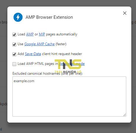 amp chrome 4 - Cách tự động bật trang AMP trong Chrome trên máy tính