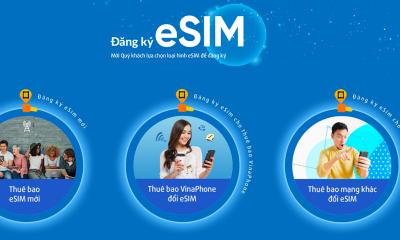 eSim 400x240 - VinaPhone chính thức tiếp nhận đặt trước eSIM online