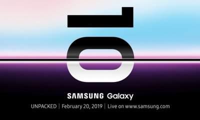 galaxy s10 400x240 - Samsung tung Galaxy S10 vào ngày 20/2