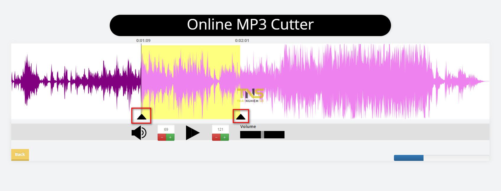 Cách cắt nhạc chuông online miễn phí
