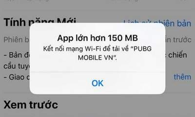 over 150mb ios 12 1 1 400x240 - Cách tải file lớn hơn 150MB bằng 3G/4G trên iOS 12 không cần jailbreak