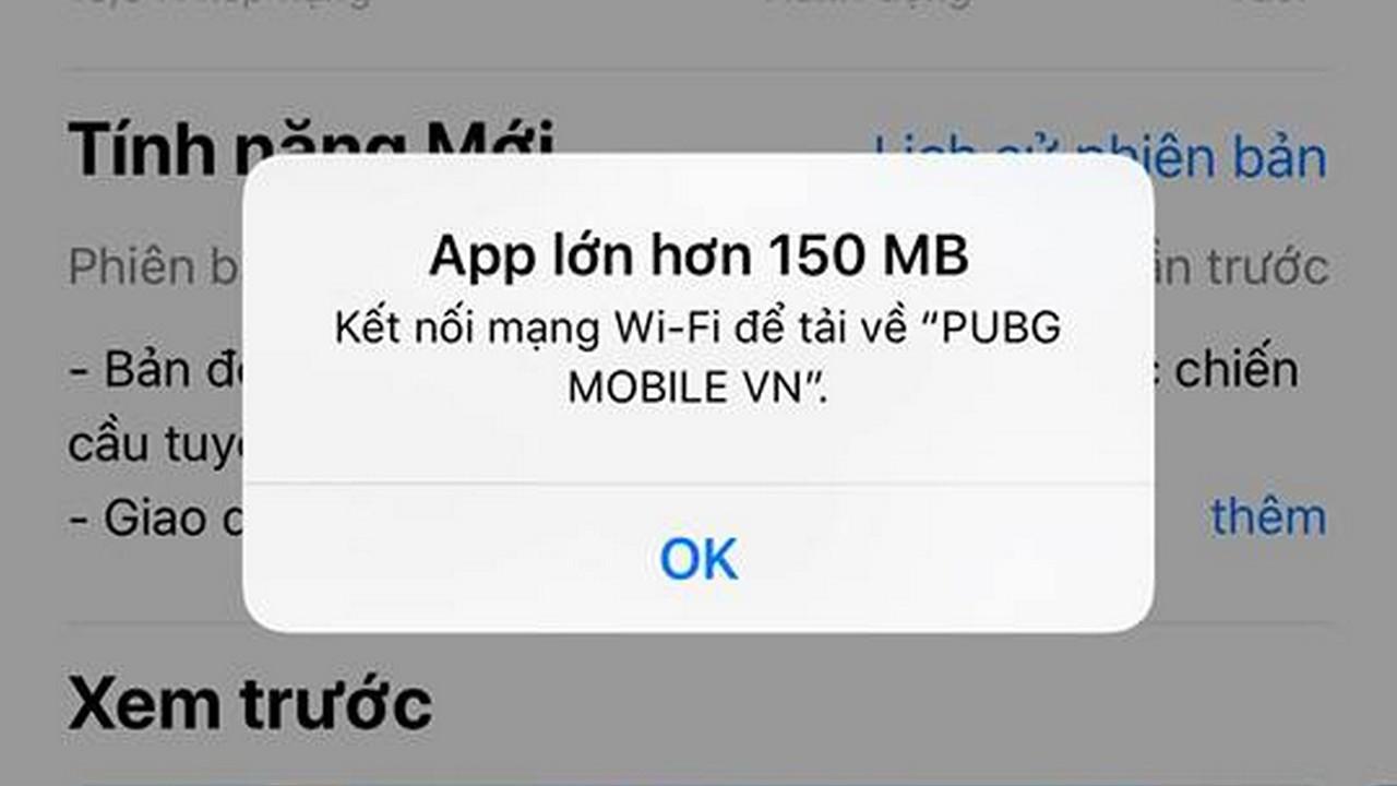 over 150mb ios 12 1 1 - Cách tải file lớn hơn 150MB bằng 3G/4G trên iOS 12 không cần jailbreak
