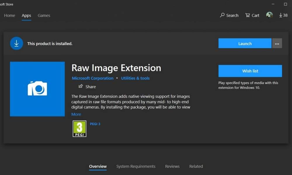 3 cách đọc file RAW trên Windows 10