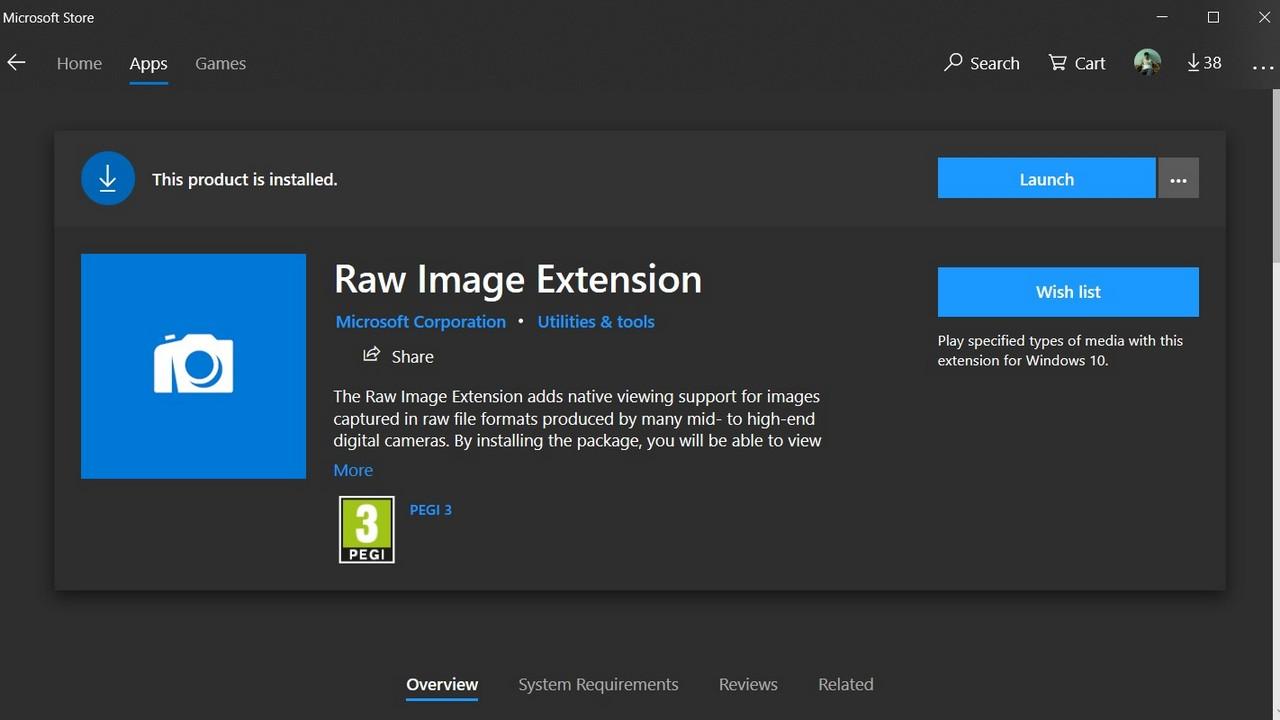 3 cách đọc file RAW trên Windows 10 10