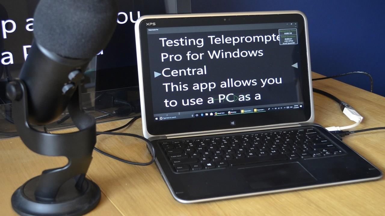 teleprompter featured - Cách tạo Teleprompter trực tuyến hỗ trợ cuộn khi nói