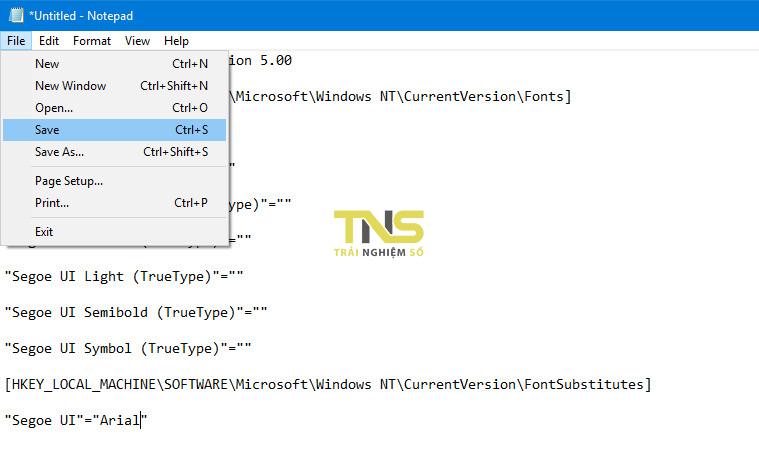 thay doi font he thong windows 10 2 - Cách thay đổi font chữ hệ thống Windows 10