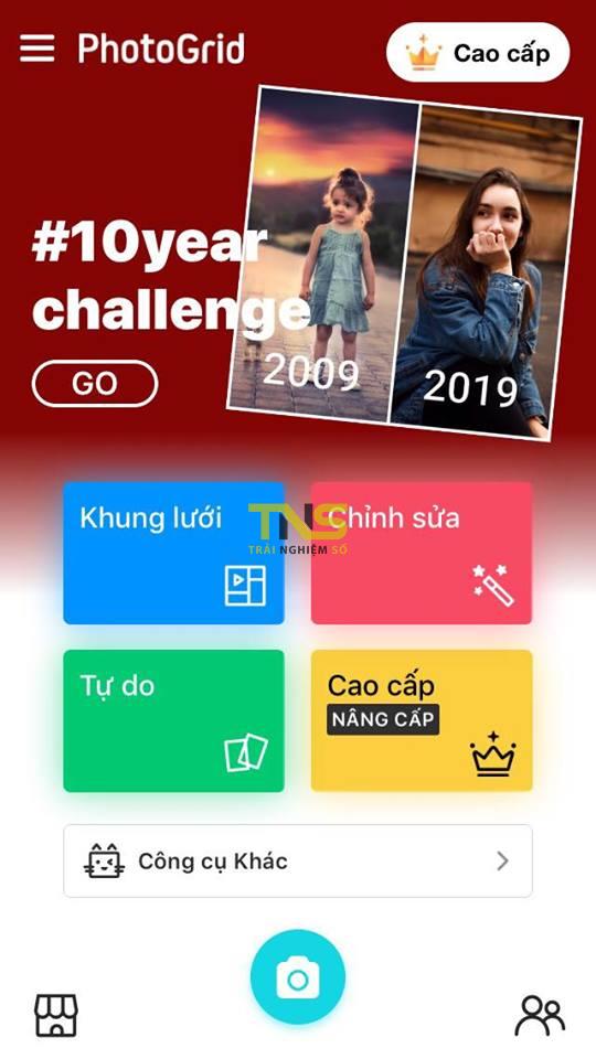 """thu thach 10 nam facebook 2 - Cách làm ảnh""""Thử thách 10 năm"""" nhanh trên iOS hay Android"""