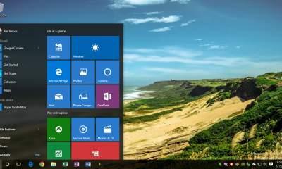 windows 10 transparent taskbar start featured 400x240 - Cách sao lưu lại bố cục thanh taskbar trên Windows 10