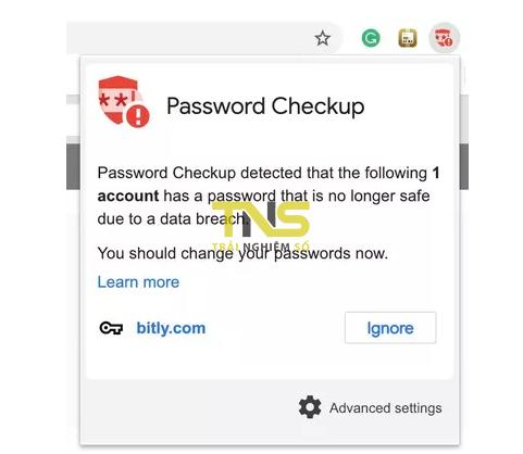 Cách kiểm tra mật khẩu của bạn có bị lộ hay không trên Chrome
