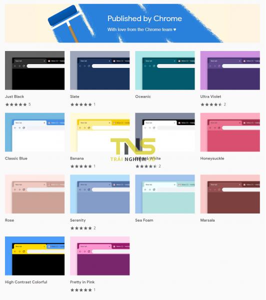 """2019 02 13 14 36 46 532x600 - Thay """"áo mới"""" cho Chrome với 14 theme do Google phát hành"""