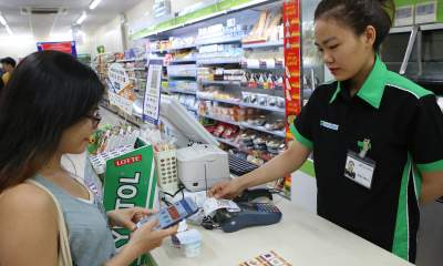 IMG 8922 400x240 - Có thể thanh toán QR Code tại FamilyMart