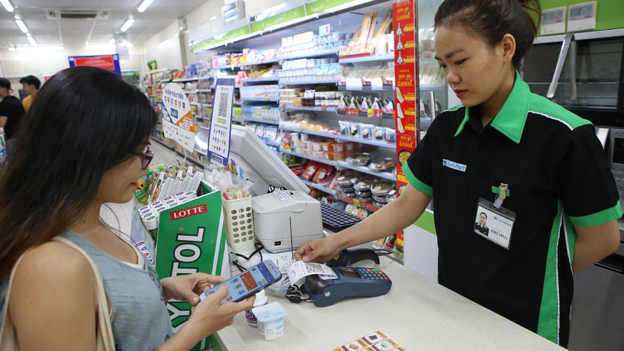 IMG 8922 - Có thể thanh toán QR Code tại FamilyMart