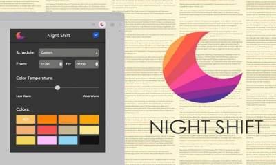 Night Shift featured 400x240 - Chống mỏi mắt trước ánh sáng xanh khi duyệt web trên Chrome, Cốc cốc, Opera,…