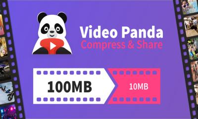 Panda Video Compressor featured 400x240 - Chia sẻ 2 ứng dụng nén video miễn phí trên Android