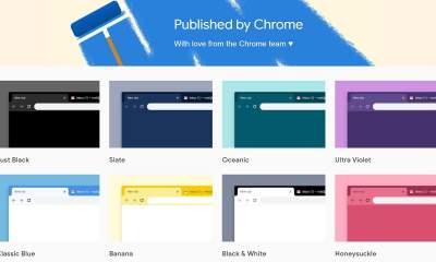 """Published by Chrome featured 400x240 - Thay """"áo mới"""" cho Chrome với 14 theme do Google phát hành"""