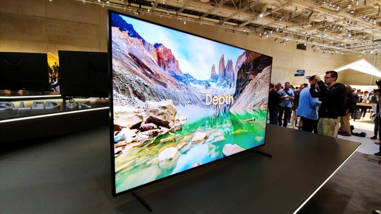 Samsung TV QLED 8K featured - Samsung sắp ra mắt TV QLED 8K trên toàn cầu