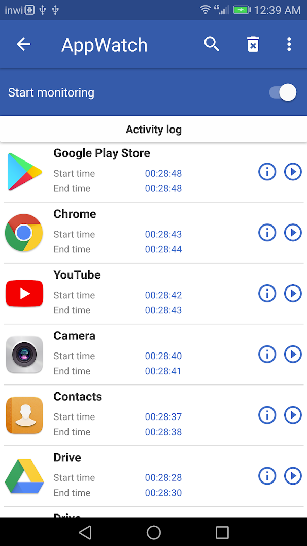 appwatch 001 - Cách nhận biết ứng dụng spam quảng cáo màn hình trên Android
