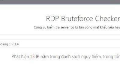 bkav 1 400x240 - Bkav phát hành công cụ kiểm tra server phòng chống virus W32.WeakPass