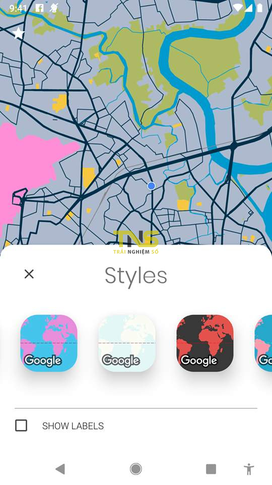 Đang miễn phí ứng dụng làm ảnh nền bản đồ rất đẹp trên Android 2