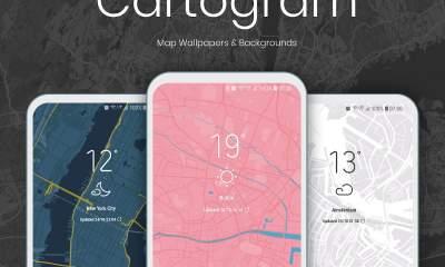 cartogram featured 400x240 - Đang miễn phí ứng dụng làm ảnh nền bản đồ rất đẹp trên Android