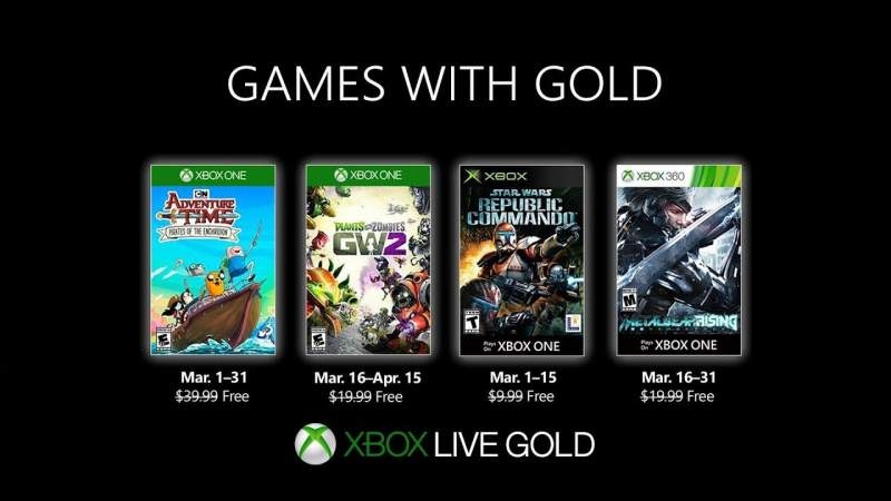 Games with Gold tháng 3/2019: Adventure Time: Pirates of the
