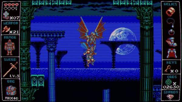"odallus the dark call switch screenshot 2 600x338 - Đánh giá game Odallus: The Dark Call - ""truyền nhân"" của Castlevania"