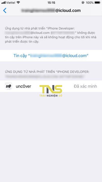 unc0ver 3 1 - Cách jailbreak iOS 12 kèm Cydia trực tiếp trên iPhone