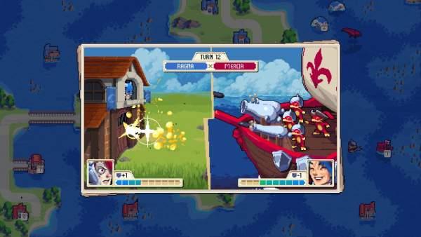 "wargroove screenshot 2 600x338 - Đánh giá game Wargroove - ""truyền nhân"" của Advance Wars"