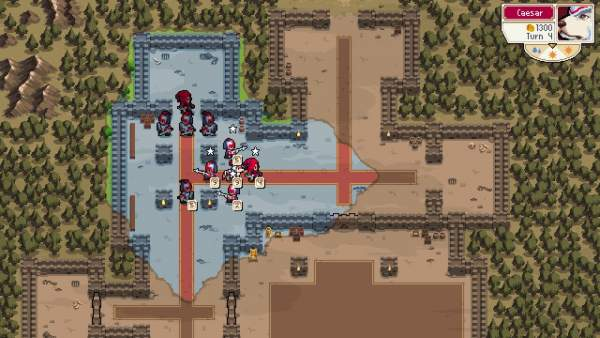 "wargroove screenshot 3 600x338 - Đánh giá game Wargroove - ""truyền nhân"" của Advance Wars"