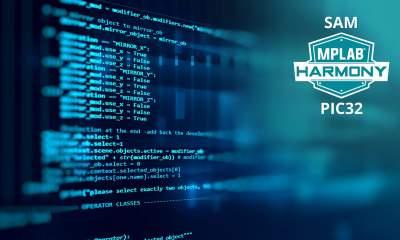 190305 MC32 PR Harmony 7x5 400x240 - MPLAB Harmony phiên bản 3.0 hợp nhất khung phát triển phần mềm cho các vi điều khiển PIC và SAM