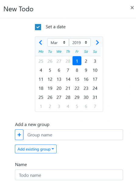2019 03 01 14 18 18 447x600 - Dùng Calendo tạo, quản lý cuộc hẹn, công việc trên Windows 10