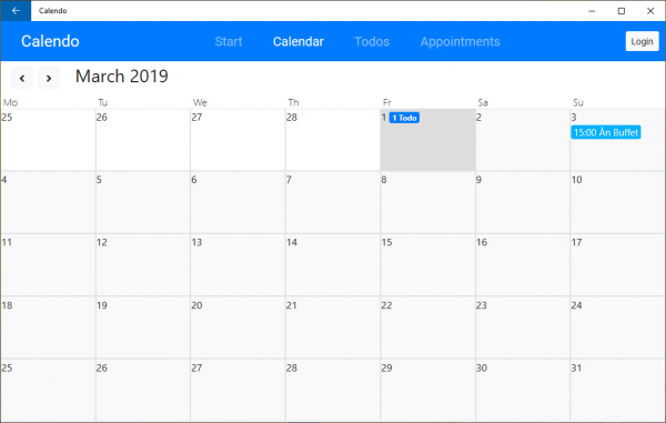 2019 03 01 14 18 39 600x381 - Dùng Calendo tạo, quản lý cuộc hẹn, công việc trên Windows 10