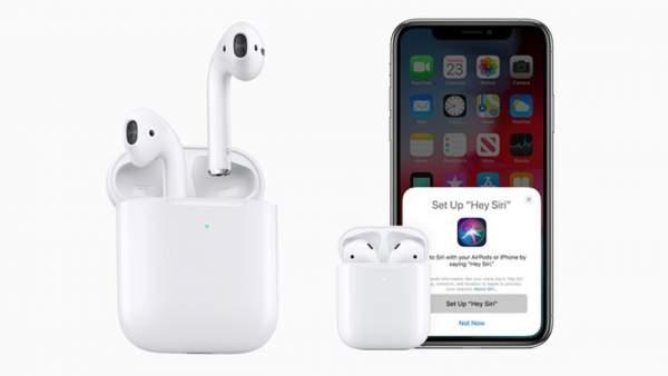 """Airpods 2 600x338 - Apple AirPods 2 ra mắt: chip H1 hỗ trợ """"Hey Siri"""", sạc không dây, giá từ 3.69 triệu đồng"""