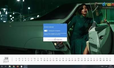 Droom Calendar featured 400x240 - Trang trí màn hình desktop Windows 10 với hình nền lịch trai xinh gái đẹp