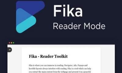 Fika featured 400x240 - Fika: Tiện ích mở rộng mới toanh mang chế độ đọc cho Chrome