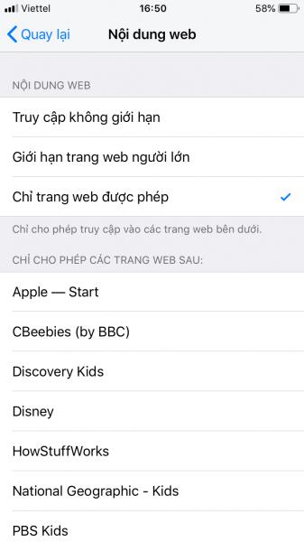 IMG 0229 337x600 - Cách chặn trang web trong Safari trên iPhone, iPad