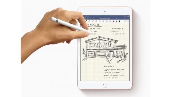 New iPad Mini Apple Pencil 600x338 - iPad Mini thế hệ thứ 5 có những nâng cấp nào đáng chú ý?